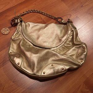 Gold Bebe Handbag